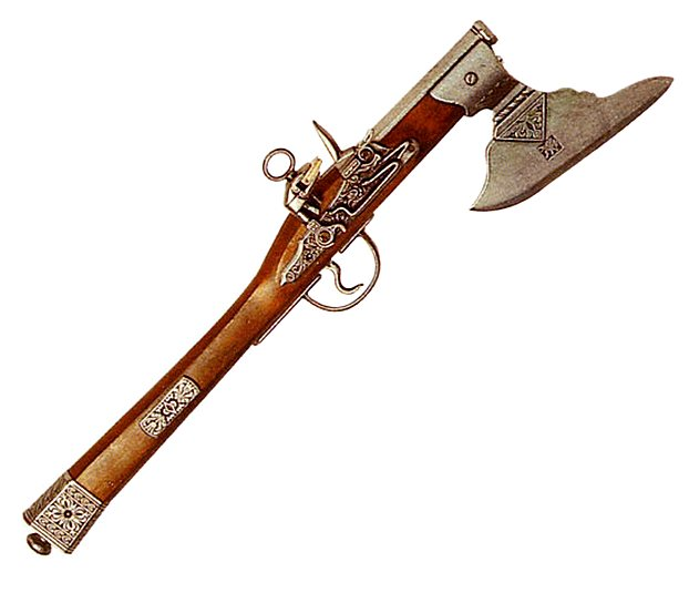 Гибрид топора с пистолетом - крикет