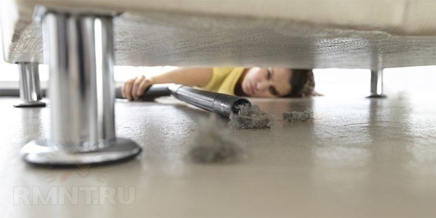 Как почистить обивку мебели в домашних условиях