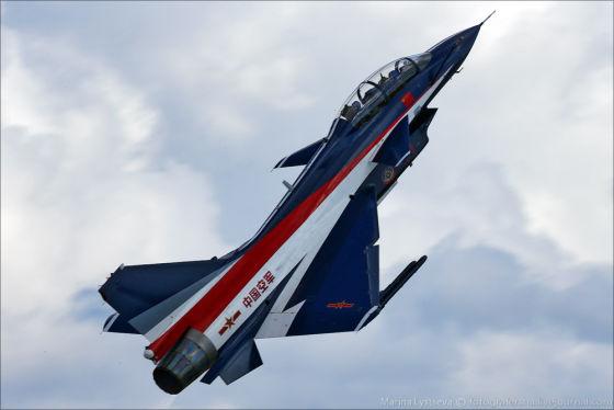 Интервью командира китайской пилотажной группы