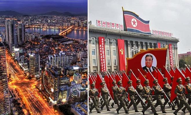 Северная Корея vs Южная Коре…