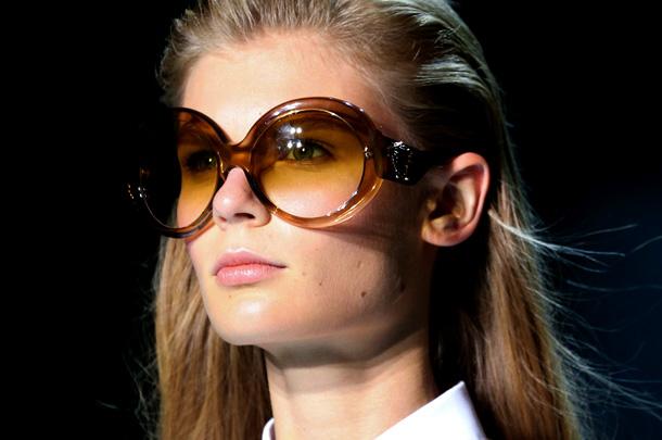 Модные очки гиперсайз 2017