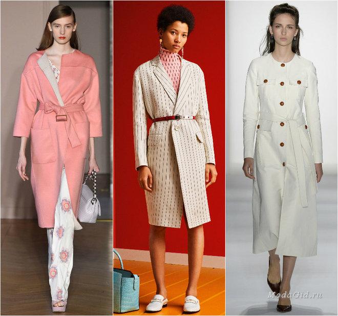 Модные пальто 2017: главные тенденции весны и фото