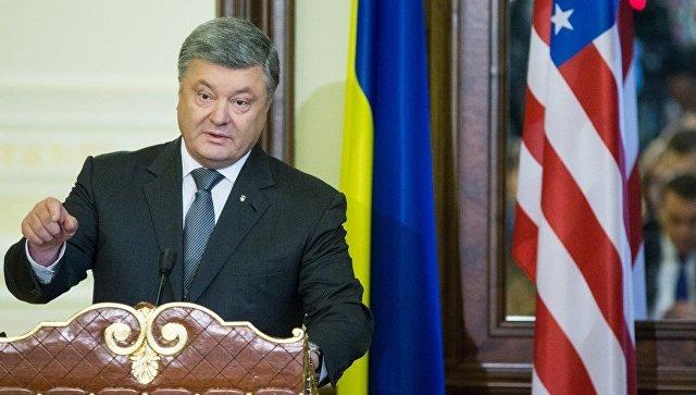 Порошенко заявил, что больше всех заинтересован в снятии санкций с России