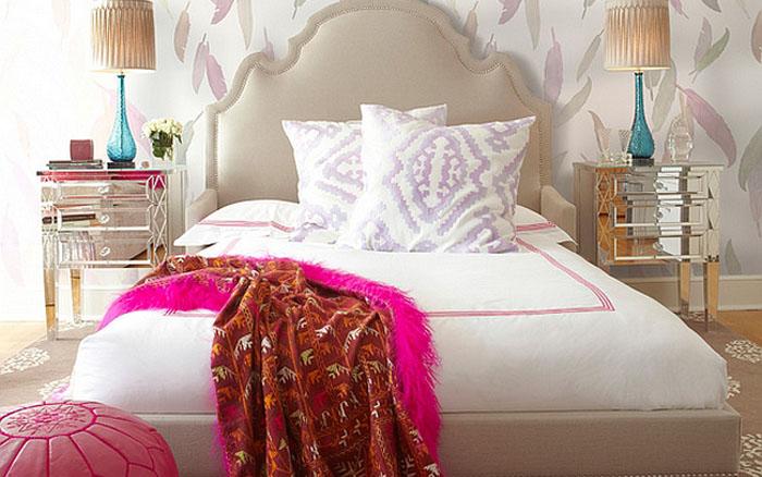 Интерьер спальни от Brett Design