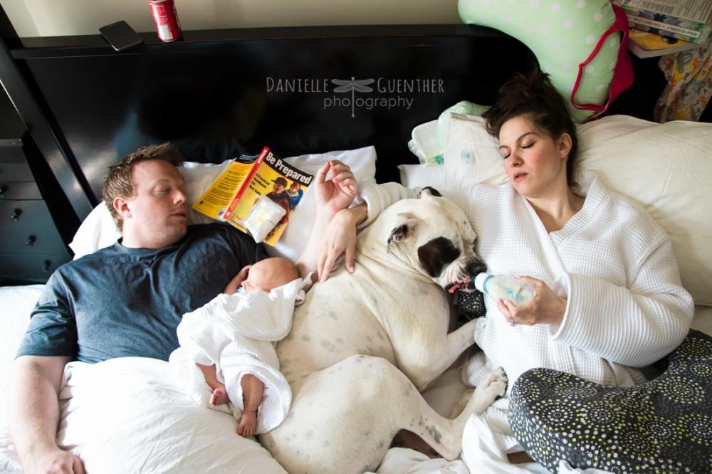 Показать семейную жизнь без прикрас.-- прикольный фотопроект мамы-фотографа