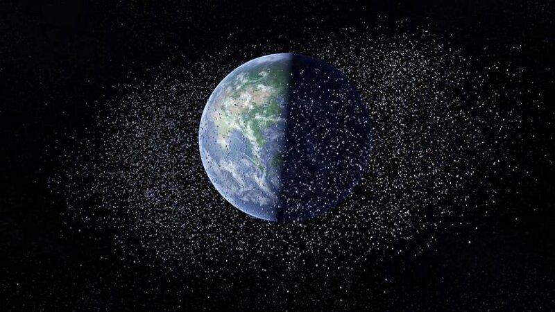 В России создан спутник для уничтожения космического мусора на орбите Земли земля, космос, наука