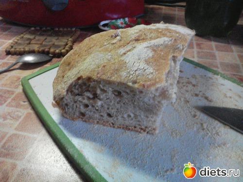 Два простых рецепта хлеба с сайта Diets