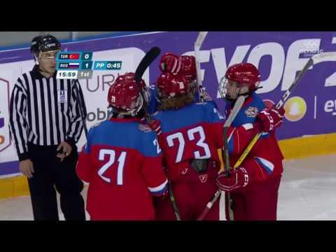 Сборная России по хоккею разгромила команду Турции со счётом 42:0