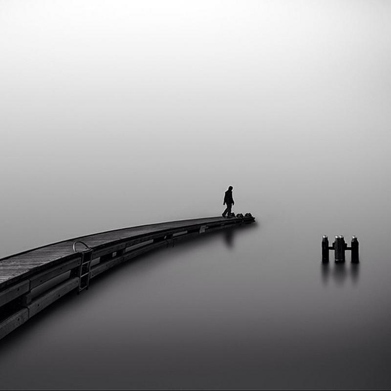 Чёрно-белые пейзажи, уходящие за пределы реальности. Фотограф Джордж Дигалакис 3