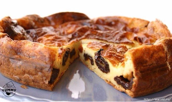 """Пирог с черносливом или самый вкусный """"Бретонский фар"""""""