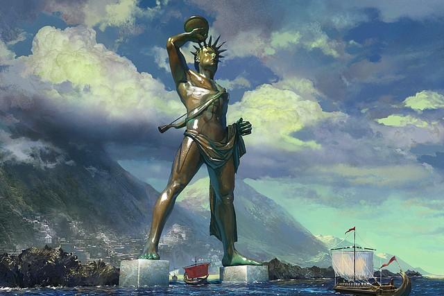 Триумфальное возвращение Колосса Родосского