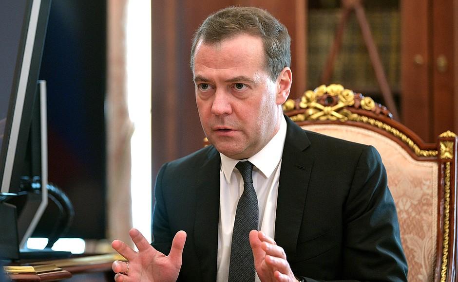 Медведев утвердил график пов…