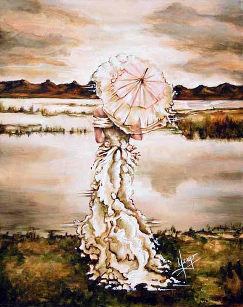 Картины каплями дождя