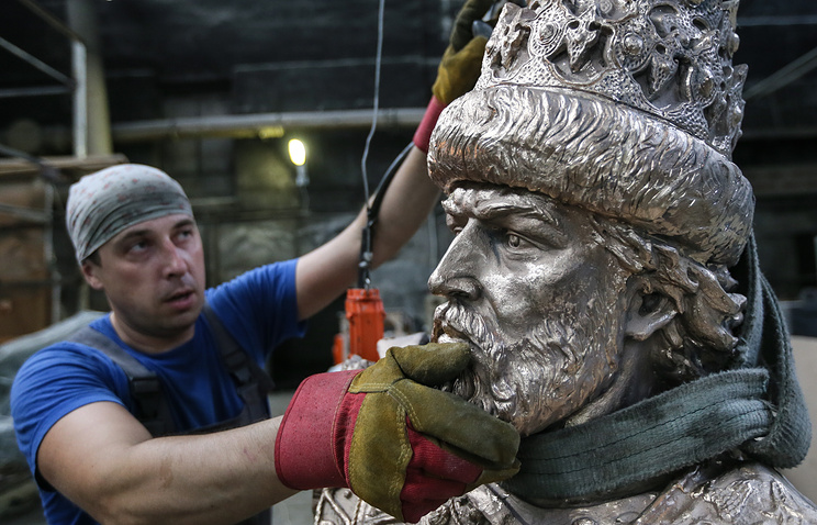 Первый в России памятник Ивану Грозному установили в Орле