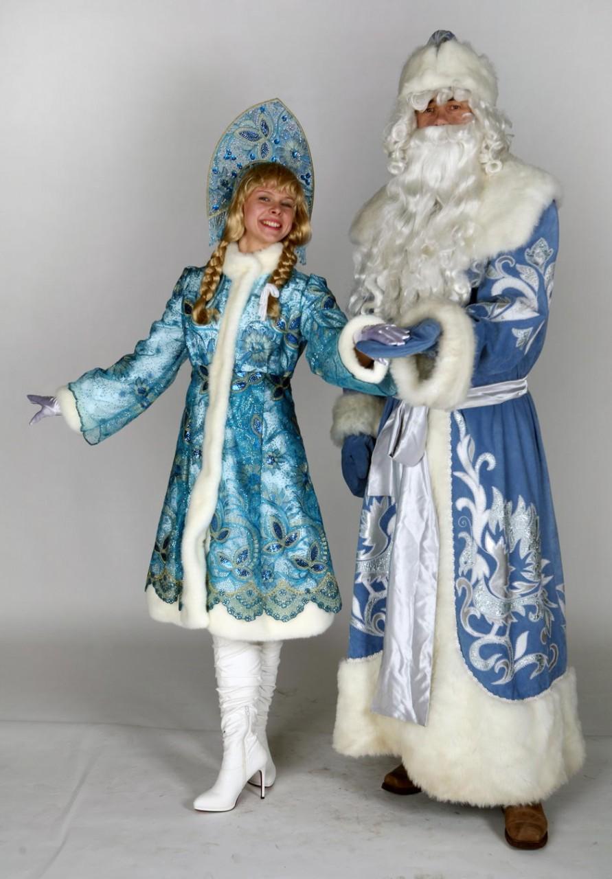 Как сделать костюм деда мороза и снегурочки своими руками