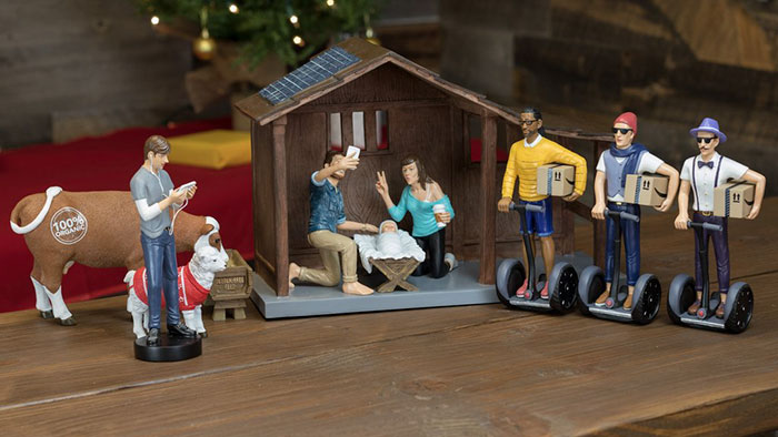 Hipster Nativity Set: What Would The Nativity Scene Look Like If Jesus Was Born In 2016