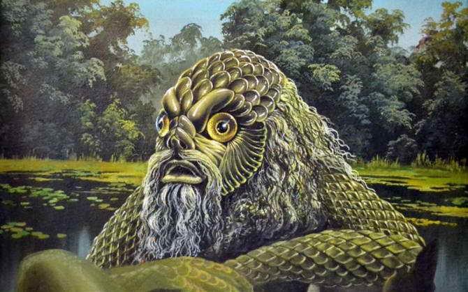 Необычные существа из мифов разных народов