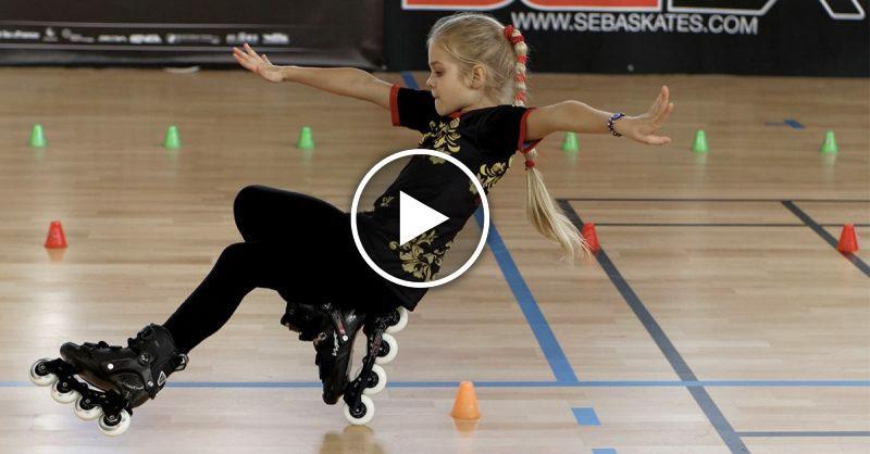 Софья Богданова — рекордсменка Европы в детском катании на роликах