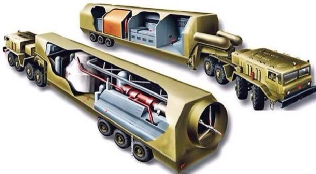 Для армии России создаются самоходные ядерные реакторы на санях