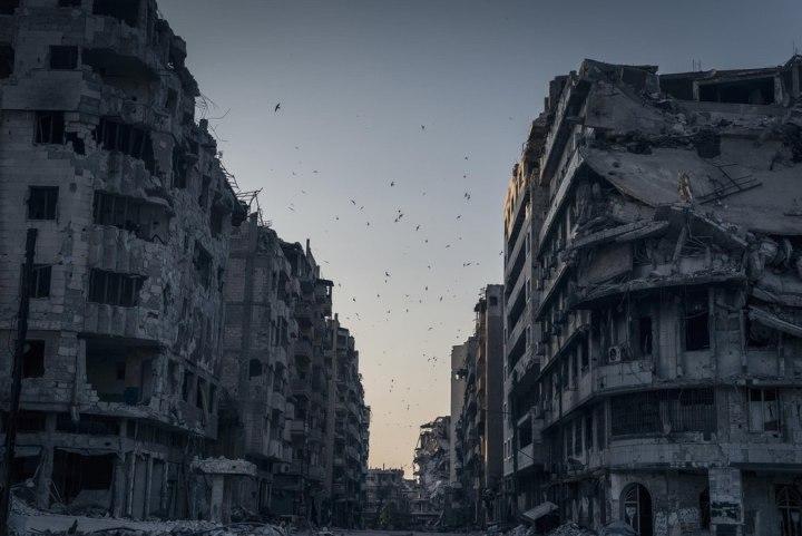 «Разрушенный Хомс», Сергей Пономарев national geographic