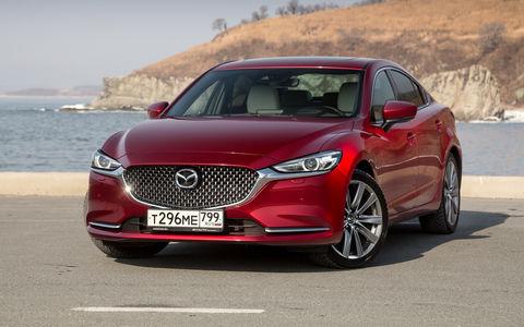 Mazda 6: обновление красного коня