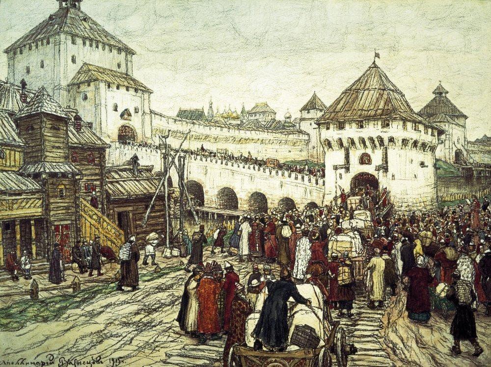 Преданья старины седой — исторические картины кисти Аполлинария Васнецова