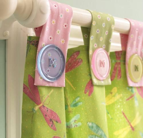 Сшить шторы в детскую своими руками