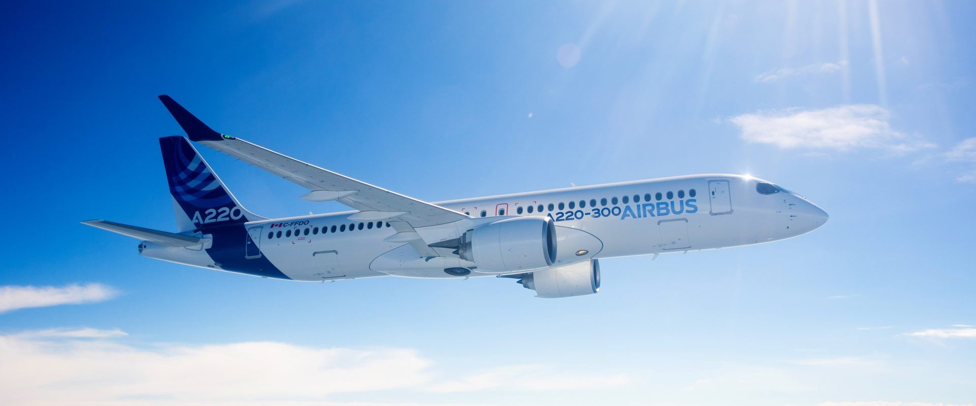 Airbus удлинил полёт A220