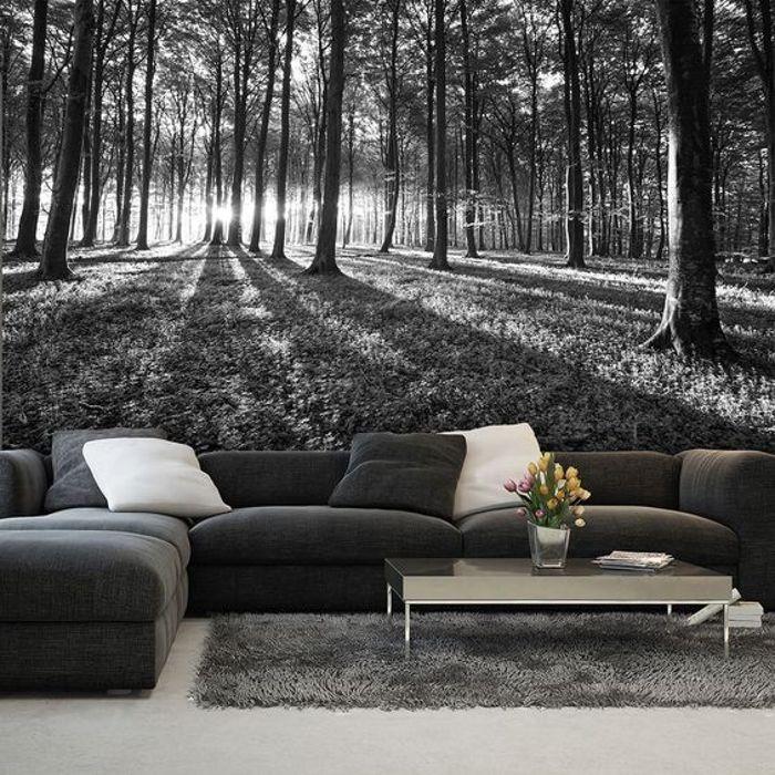 Фотообои и дизайн стен. 30 потрясающих вариантов изменить дом до неузнаваемости