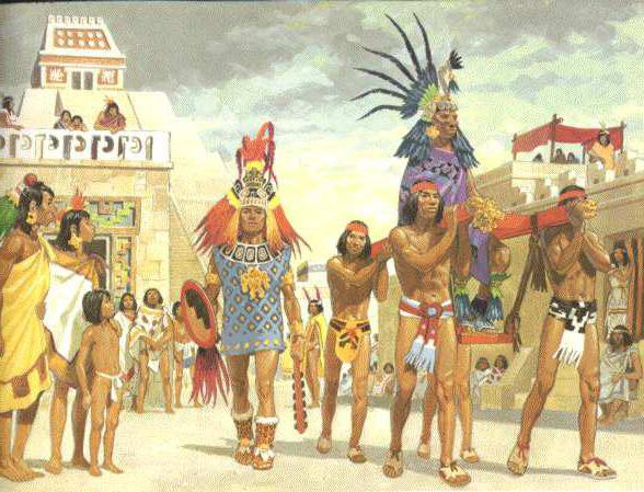 Древние цивилизации. Ацтеки