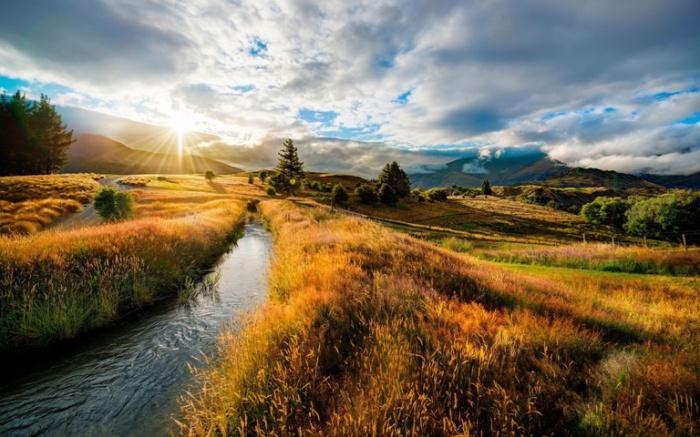 Осень. Новая Зеландия.