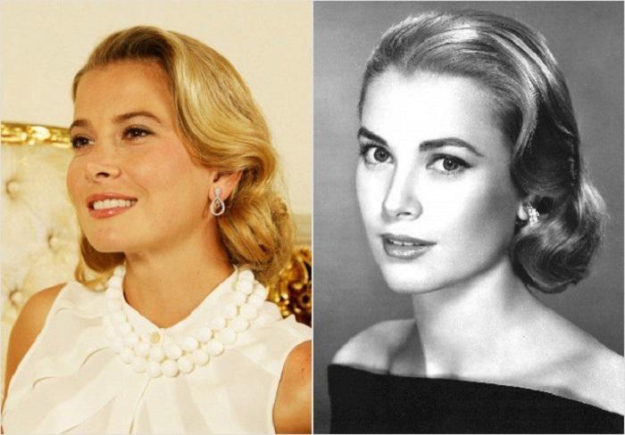 Юлия Высоцкая и Грейс Келли: а ведь похожи, как сёстры.