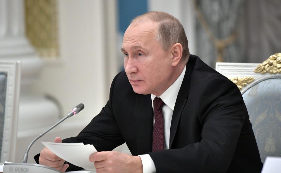 Путин вручил госпремии благо…
