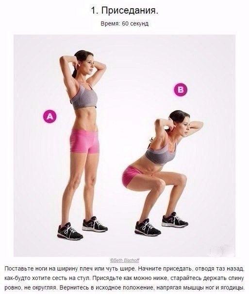 Всего 4 минуты заменят целый час полноценного фитнеса в спортзале!