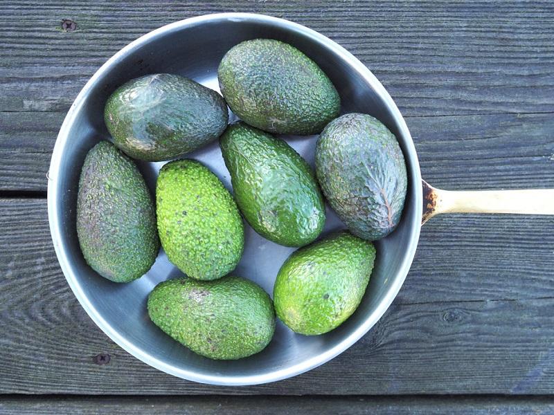 авокадо в морозилке