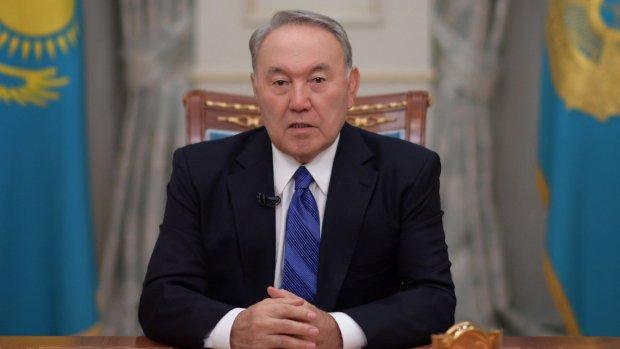 Заявление Назарбаева об отставке