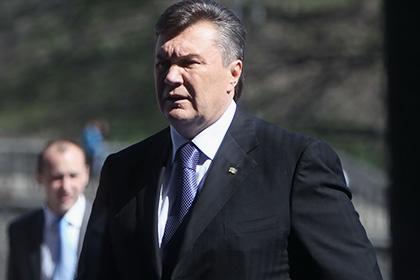 Янукович назвал события в Крыму результатом провокации Майдана
