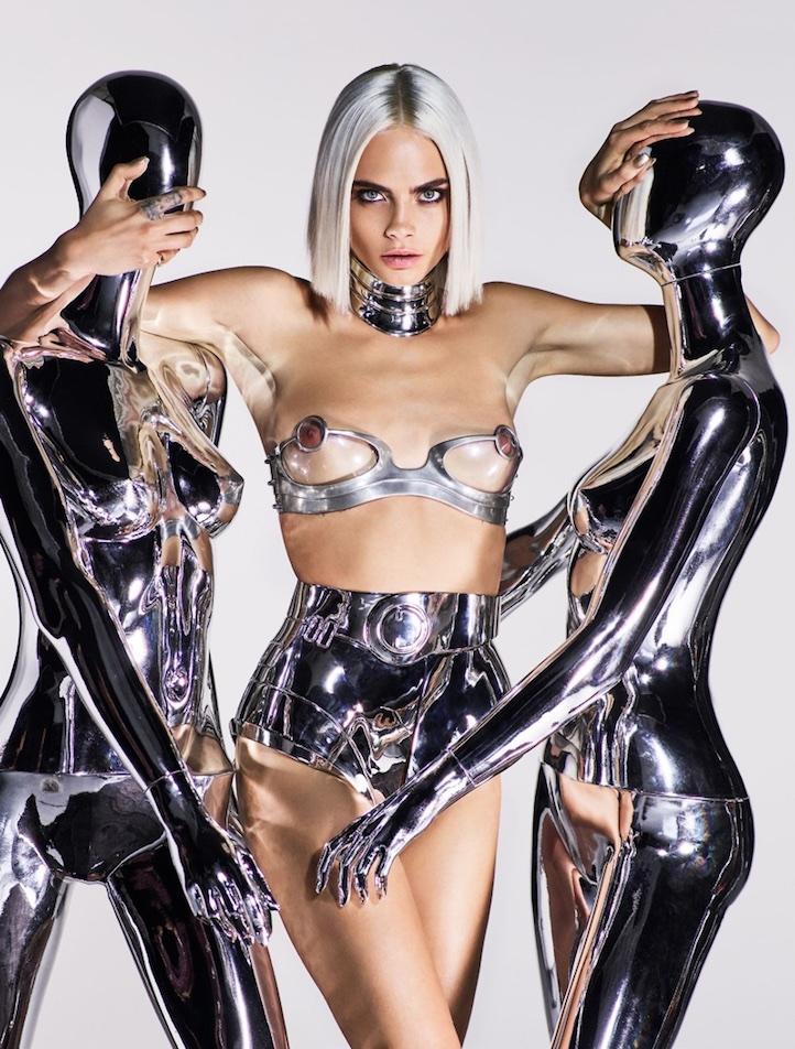 Не нужно стесняться: Кара Делевинь снялась в откровенной фотосессии для GQ