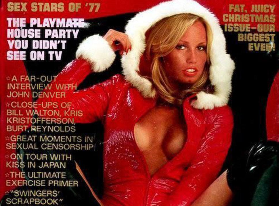 Горячие снегурочки на рождественских обложках старых журналов для взрослых