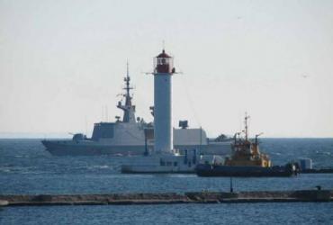 В Одессу зачастили военные корабли