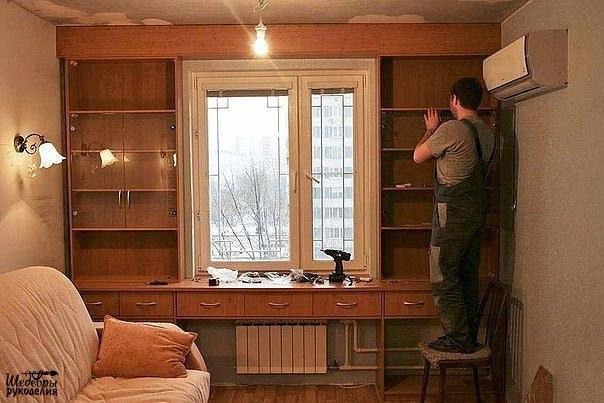 Что расположить по бокам от окна? Семь симметричных идей
