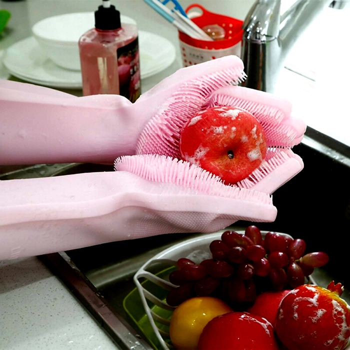 Перчатки для хозяйственных работ. | Фото: magen2.ir.