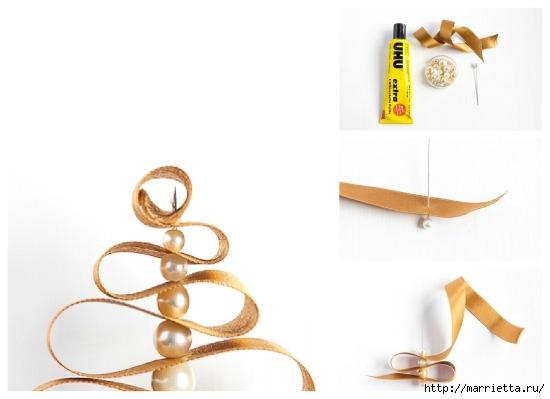 Для праздничной сервировки стола. Вазочки из елочных шаров (10) (550x399, 66Kb)