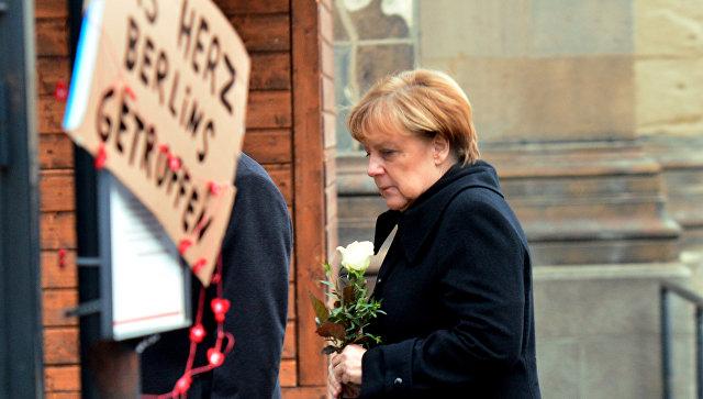 Загнана в угол: Focus рассказал о судьбе Меркель после теракта в Берлине