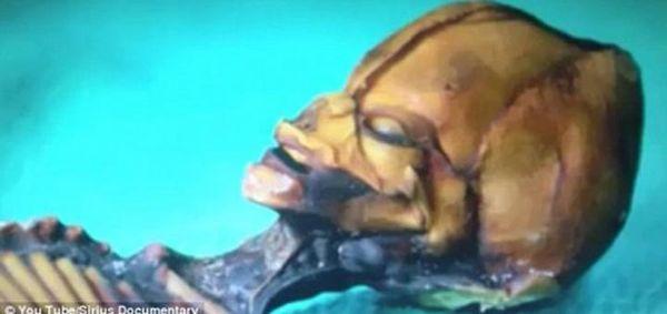 Инопланетянина нашли в пустыне Атакама