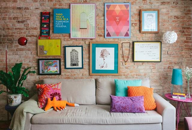 Советы дизайнеров. Декорирование стены