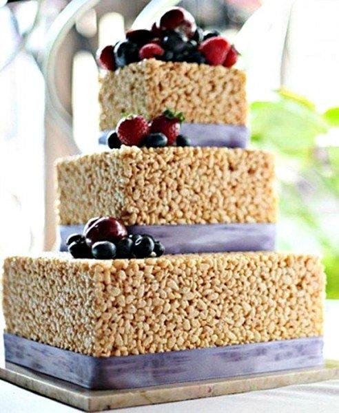 Альтернатива традиционному свадебному торту