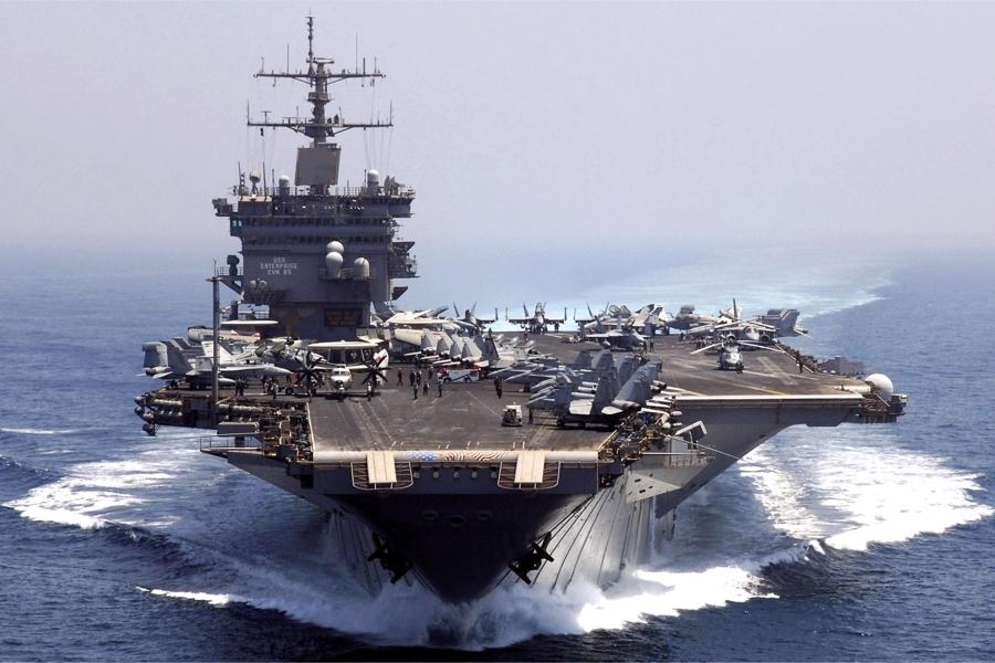 Ответ на заявление американцев о блокаде Калининграда и Крыма своими кораблями