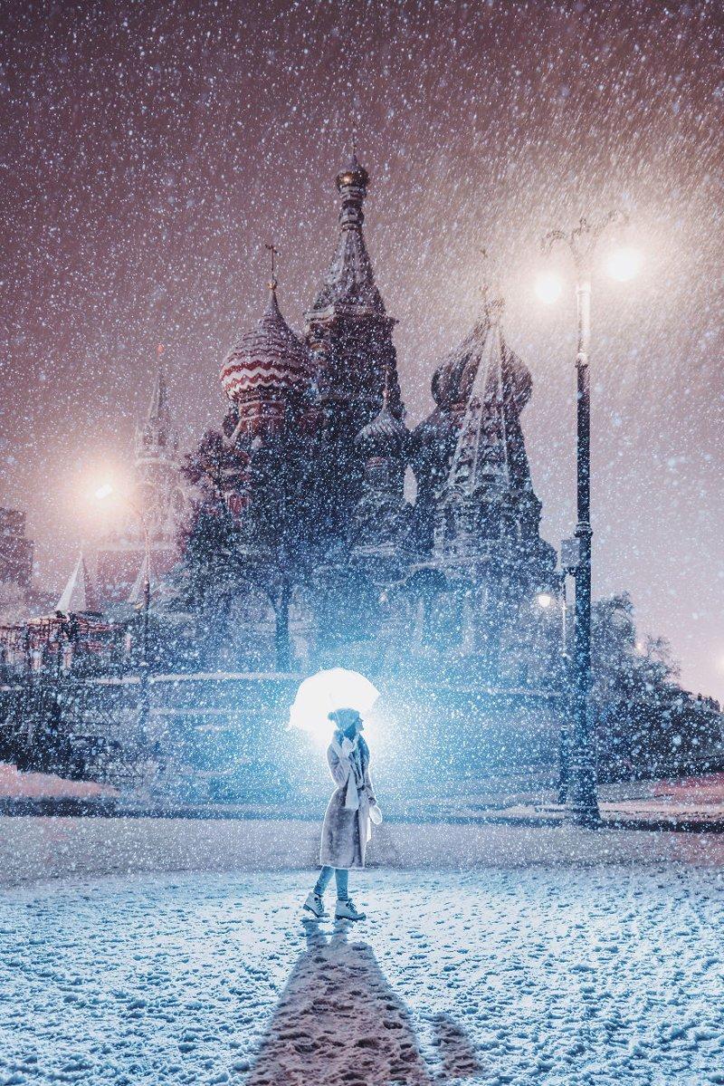 3. достопримечательность, зима, кристина макеева, москва, сказка, снег, фотография, фотомир