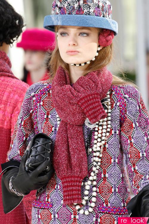 Мода шарфы 2017